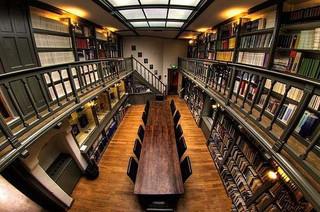 国外大学图书馆设计室内效果图欣赏