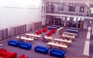 图书馆室内沙发装饰设计图片欣赏