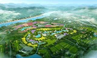 绿色公园设计效果图案例