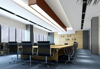 会议室室内大厅装修设计图片