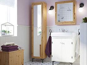 12个卫浴间角柜设计 搞定卫生间救急收纳
