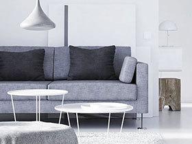12极简风格客厅 捕捉时尚之美