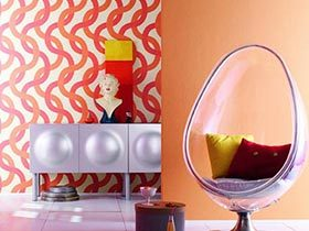 12个时尚创意家居壁纸 给家添活力