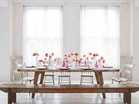 提升餐桌美丽值 11张餐桌摆饰图片