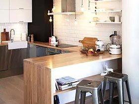 回归本真 16个木质厨房装修效果图