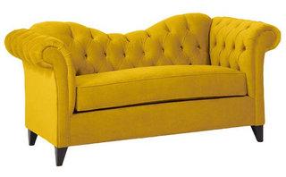 黄色新古典沙发