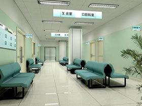 医院走廊装修效果图