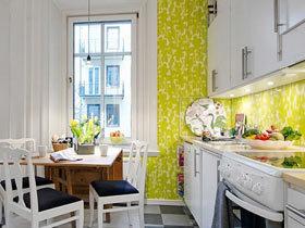 装扮最美厨房 11款清新厨房壁纸图片