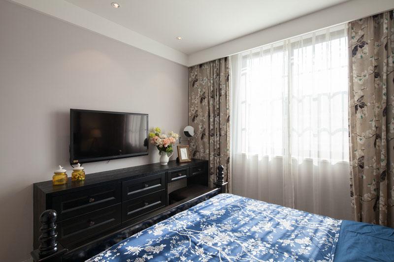 卧室电视背景墙图片