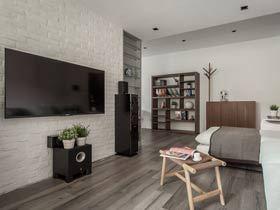 业主自己装修的60平小家  简洁实用的空间