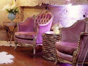 心中梦幻的紫色 11个室内装修效果图片