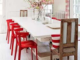 一点红色迎新春 11个喜庆红色家具效果图