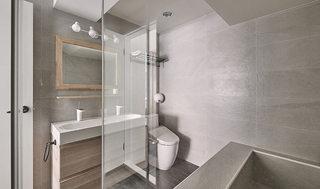 现代简约简洁卫生间装修效果图