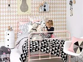 公主养成记 15个北欧风格可爱儿童房装修