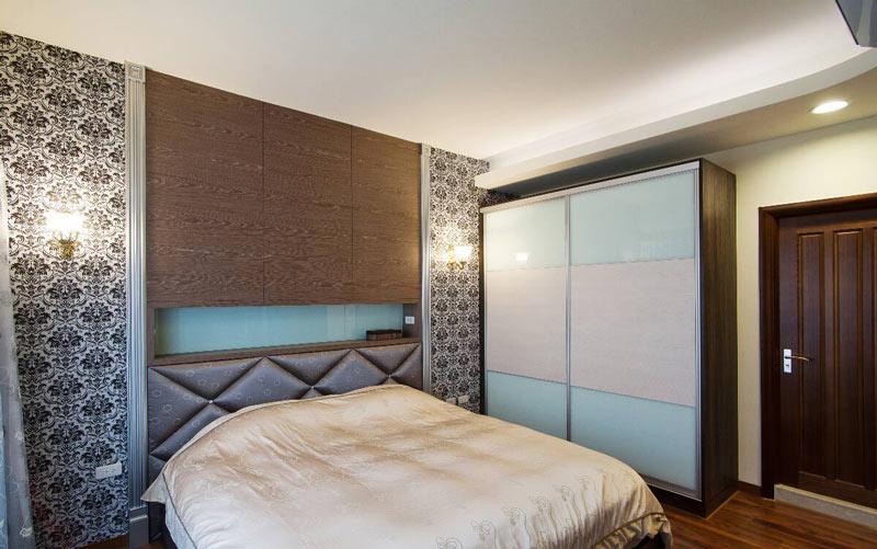 古典简欧卧室背景墙效果图