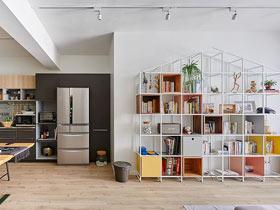 65平米两室一厅装修 打造清新北欧风格屋