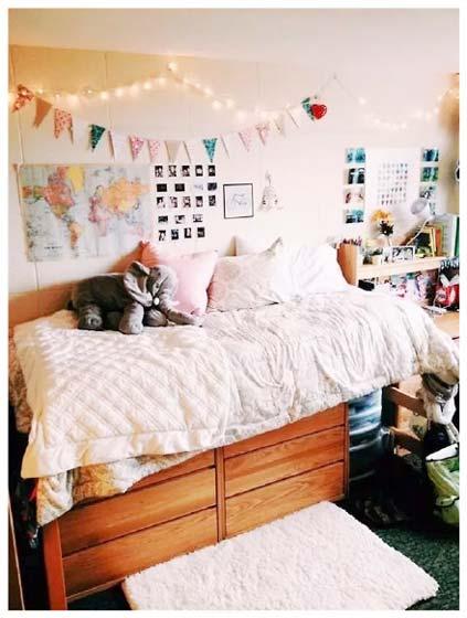 卧室书房一体装修图