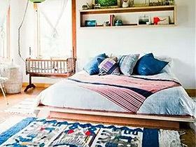 11个波西米亚卧室布置图 演绎自由浪漫风