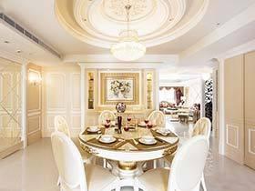 复古情调  10款新古典餐厅装饰图片