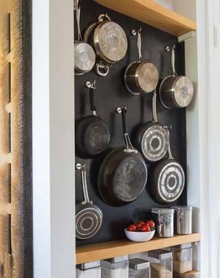 厨房收纳布置摆放图