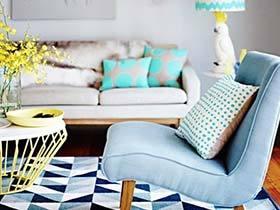 客厅的彩色巨轮  11款客厅沙发设计实景图