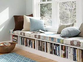 11个舒适飘窗设计效果图 蛰居生活更出色