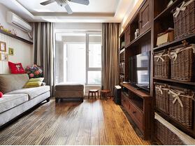 两室两厅美式风格装修  体验尊贵与典雅