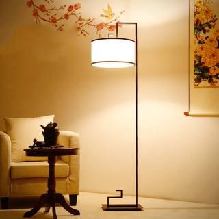 沙发落地灯效果图片