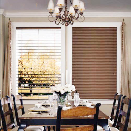 餐厅清新窗帘装修装饰效果图
