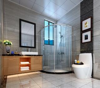 中式古典风格装修卫生间装修图片