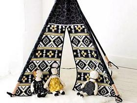 12个可爱家居帐篷效果图 不出门照样能野营