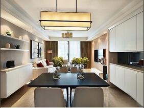 简约风格两室两厅装修  体验都市现代感