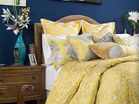色彩上艺术 10款卧室布艺搭配设计图
