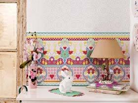 家里的鸟语花香  12个壁纸背景墙装修图片