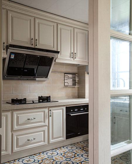 精致美式厨房隔断设计