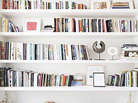 知识创造生活灵感  10个家居书架摆放图