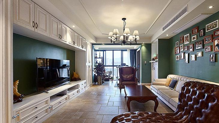 古典美式客厅装饰大全