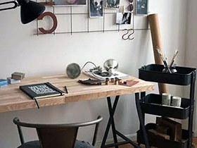 11个书房工作区装修 实用小户型空间