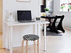 清爽简单的阅读  10个简易书桌设计布置图