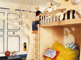 热爱生活从小开始  10个趣味儿童房效果图