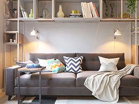 50平小户型公寓装修设计 小空间的大魅力