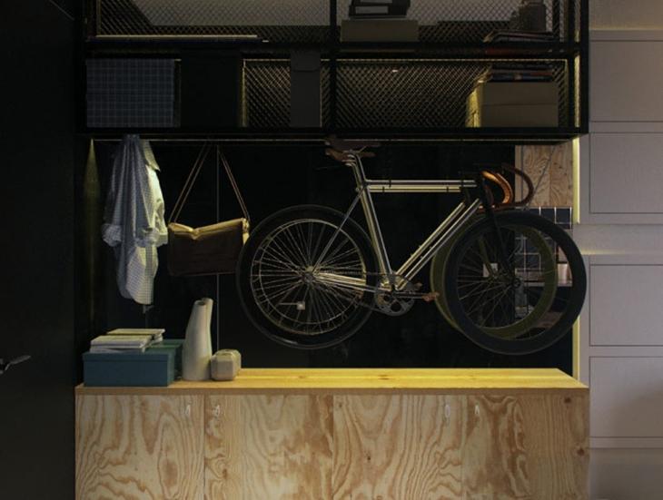 小户型公寓装修玄关效果图