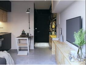 32平理工男自己设计的家  是不是很个性?