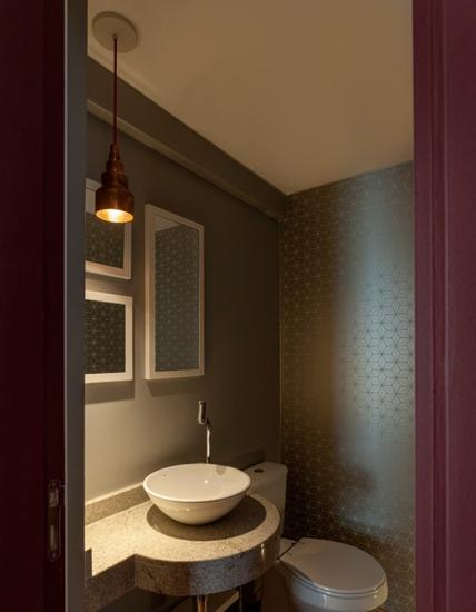 时尚美式卫生间装饰效果图