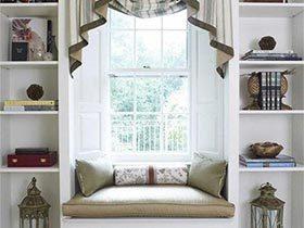 坐在自己的世界  10款卧室飘窗装修实景图