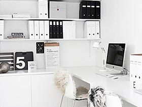 在家轻松办公  10个家庭工作室装修效果图