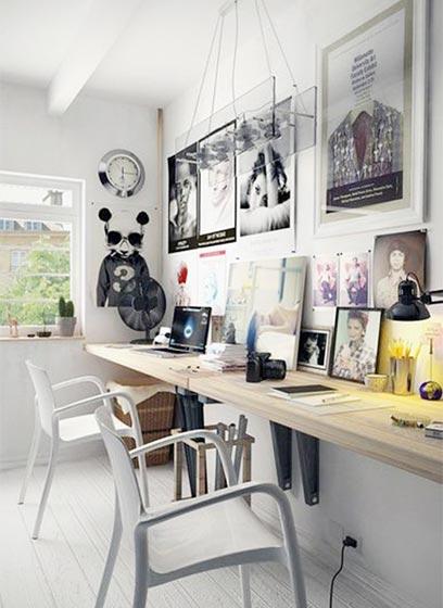 家庭工作室装修效果图