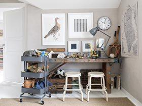 热爱工作生活  10个家庭工作室布置图