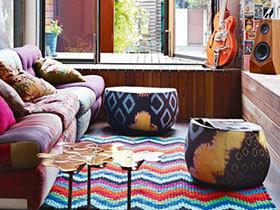10个客厅特色地毯效果图 尽显异域风情