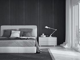 安静从容  10个灰色卧室图片